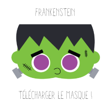 Masque Frankenstein Halloween